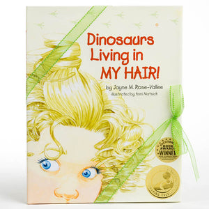 """Dinosaurs Living in My Hair"" BOOK ONE"