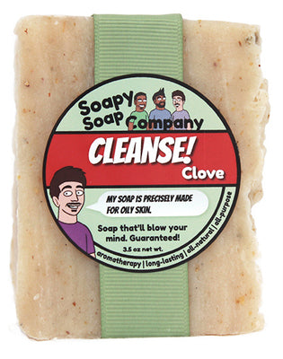CLEANSE! - Clove Bar Soap (vegan, halal)