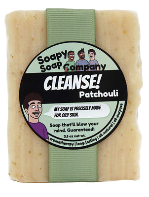 CLEANSE! - Patchouli Bar Soap (vegan, halal)