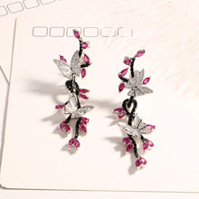 Butterfly Black Spinel Ruby with 925 Sterling Silver