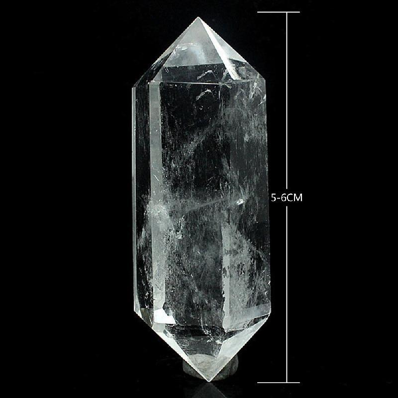 Natural Clear Quartz Crystal double Terminated Crystal
