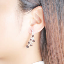 Vintage Star on the Long Earrings For Women