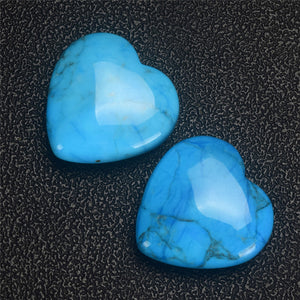 Heart-shaped Turquoise Crystal