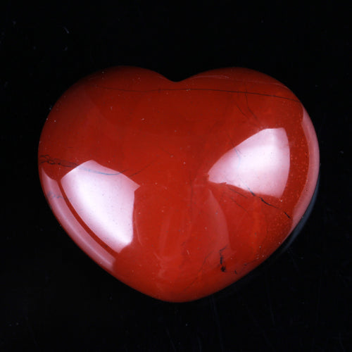 Natural Red Jasper Heart Healing