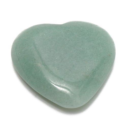 Natural Green Aventurine Crystal Heart