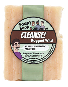 CLEANSE! - Rugged Wild Bar Soap (vegan, halal)