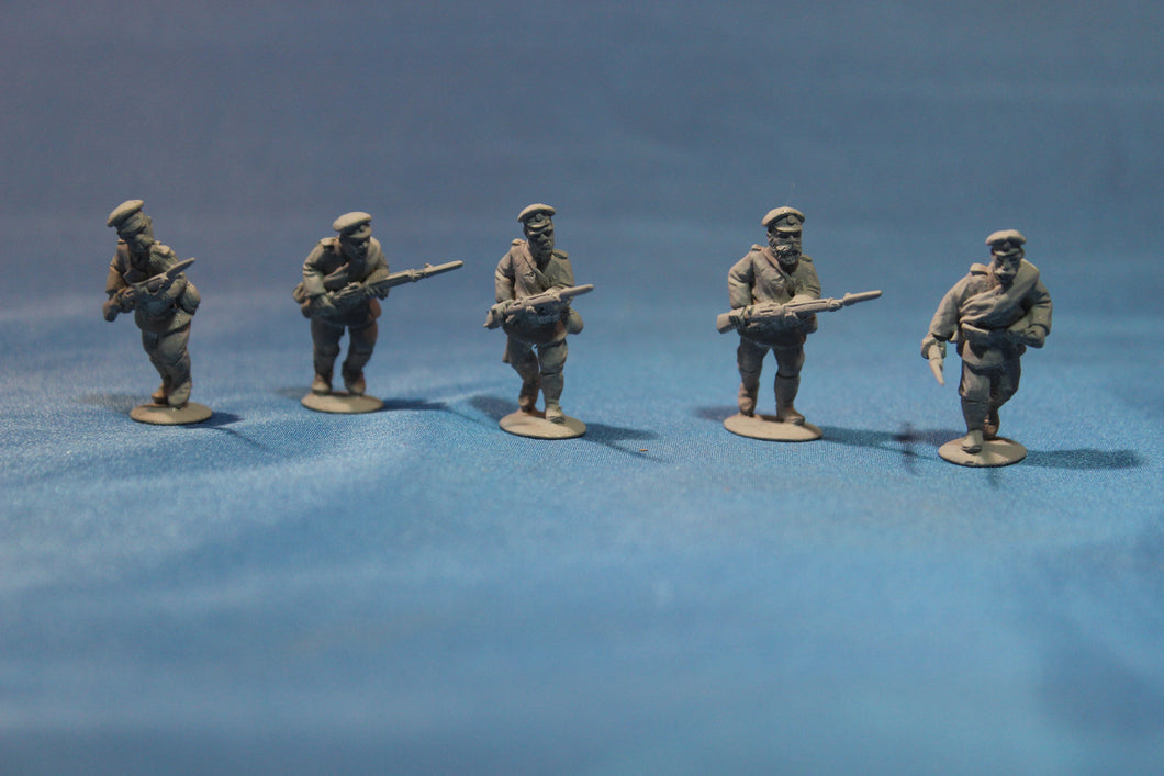 Russian Infantry Advancing