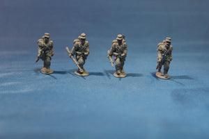French Line Infantry Advancing Trail Arms