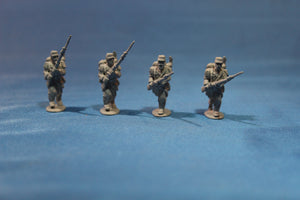 French Line Infantry Advancing Port Arms