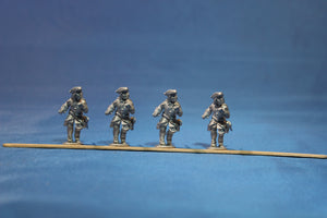 Swedish Infantry with Pike Advancing in Tricorn