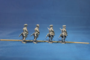 Swedish Infantry with Muskets Advancing in Tricorn