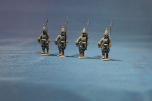 Russian Grenadiers March Attack