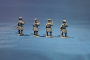 Russian Infantry with Pike Standing in Tricorn