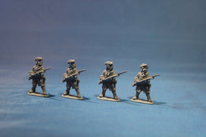 Russian Infantry with Musket in Tricorn Defending