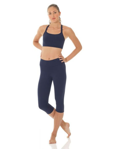 Mondor 3532 Matrix wide waistband capri legging