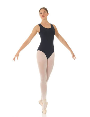 Mondor 3621 Mesh Tek sleeveless leotard