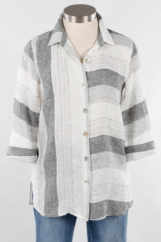 Habitat H14508 Pleat Sleeve Swing Shirt
