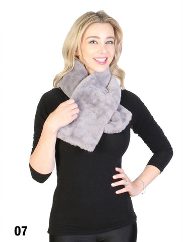 Accessories, Fall 2020, SF 1462 Faux Fur Scarf