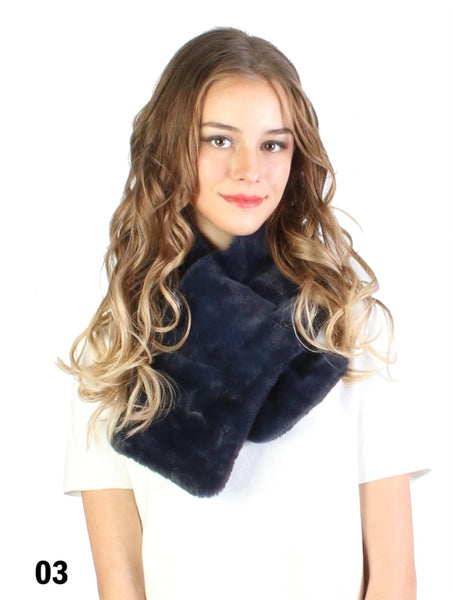 Accessories, Fall 2020 1523 Faux Fur Scarf