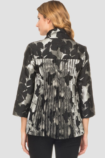 Joseph Ribkoff 194756 Metallic Sheen Jacket