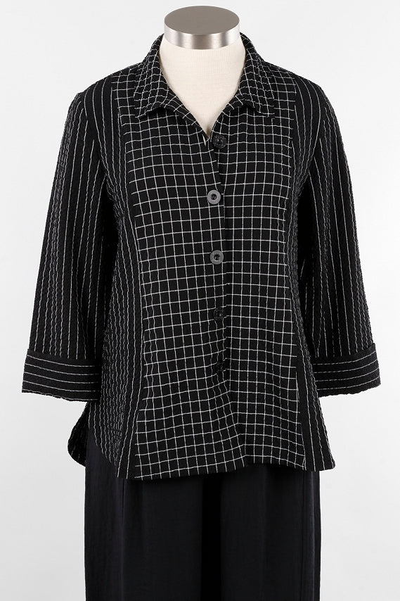 Habitat H21831 Mix Round Hem Tunic Shirt