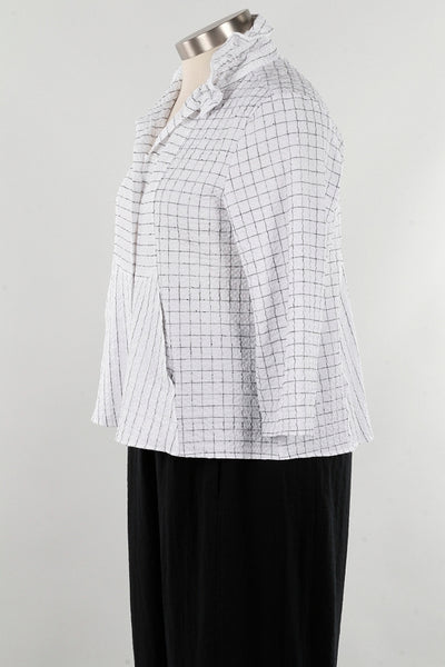 Habitat H21839 Mix Ruched Collar Jacket