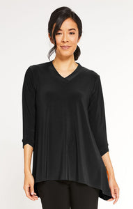 Sympli, Fall 2020 22195-2 Gaze Top, 3/4 sleeve