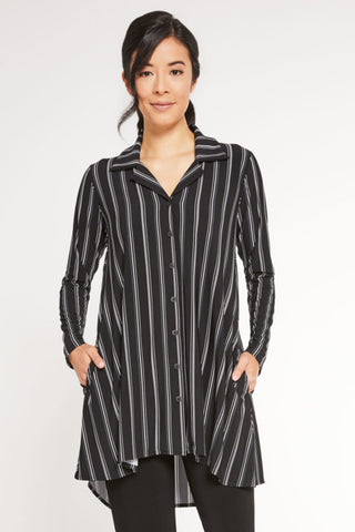 Sympli, Fall 2020  2437CB Go To Shirt, Pattern, Long Sleeve