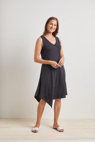 Habitat 2021, H27580 Asymmetrical Tank Dress