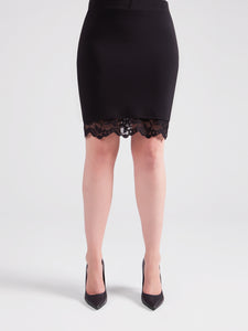 Sympli 3610 Lace Reversible Mini Skirt