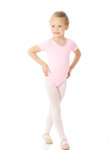 Mondor 40035 Classic Cotton short sleeve leotard