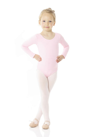 Mondor 40040 Classic Cotton long sleeve leotard