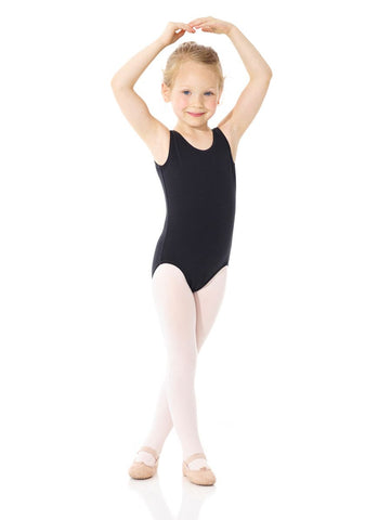 Mondor 40045 Classic Cotton sleeveless leotard