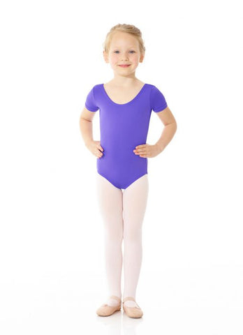 Mondor 40096 Essentials short sleeve leotard