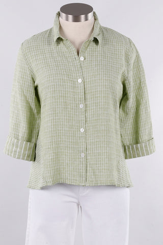 Habitat H43429 Mixed Hi Lo Shirt