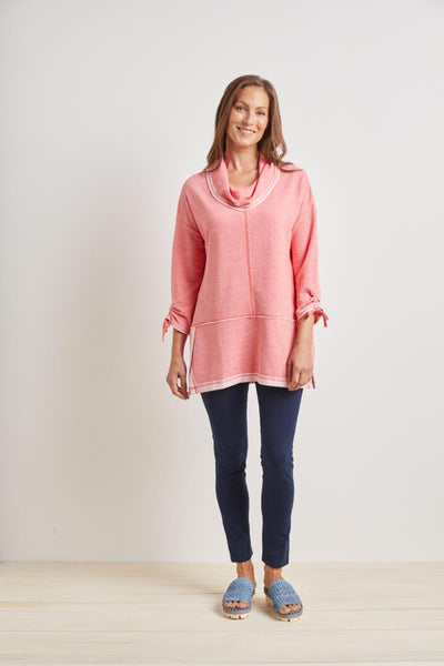 Habitat 2021, H69037 Ruched Cowl Neck Tunic