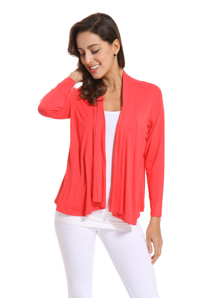 Orange by Fashion Village Bamboo Jacket
