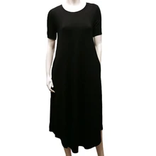 Gilmour BDS18-3005 Bamboo T-Shirt Maxi Dress