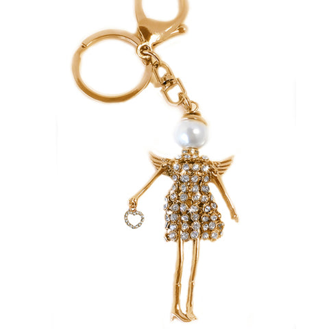 Jacqueline Kent JKKC124.GOCK Angel Collection Key Fob