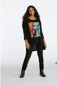 "Claire Desjardins, Fall 2020 90248 ""In The City"" Oversized Hi-Lo Tunic"