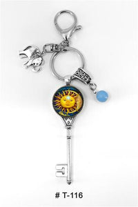 Marie France Carriere T-116 Keychain Lucky Charm Sun