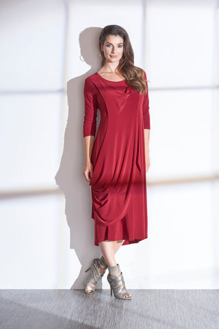 Sympli, Fall 2020 2854V-2 Shore Dress