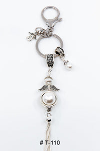 Marie France Carriere T-110 Keychain Lucky Charm Angel