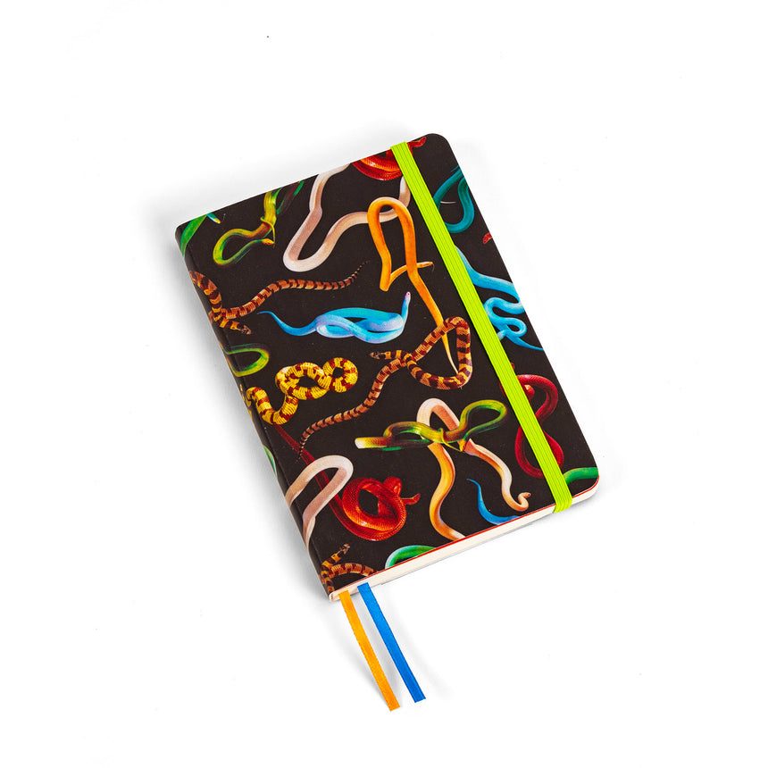 Spiral Landscape Notebook - Grid