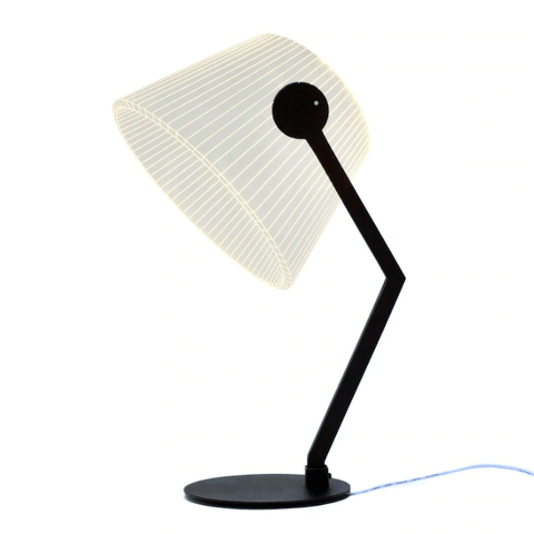 Ziggy Black LED Table Lamp