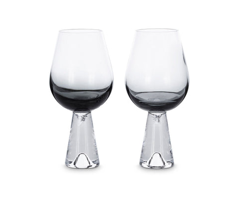 Tom Dixon Black Tank Wine Glasses
