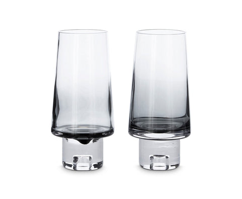 Tom Dixon Black High Ball Glasses