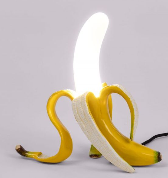 Banana Lamp - Yellow Louie