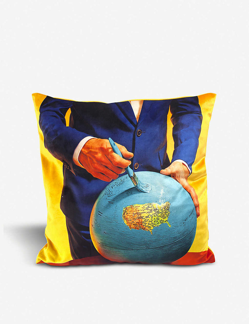 Toiletpaper Pillow - Globe