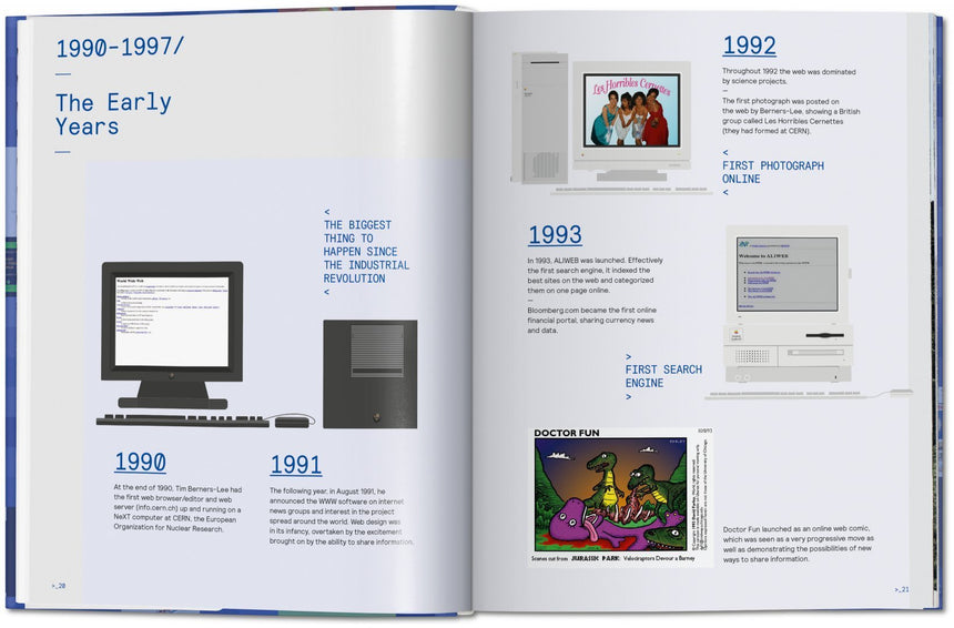 Web Design, The Evolution fo the Digital World 1990-Today